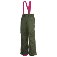 Columbia Sportswear Bugaboo Snow Pants - Insulated (For Girls) in Surplus Green - Closeouts