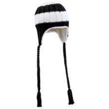 Columbia Sportswear Bugaboo Stripe Peruvian Beanie Hat (For Women) in Black/White Stripe - Closeouts