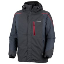 Columbia Sportswear Bugaboo Tech II Interchange Omni-Heat® Jacket - Waterproof (For Men) in Black - Closeouts