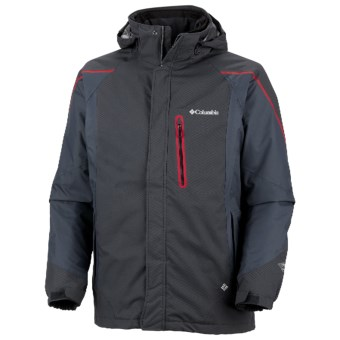 Columbia Sportswear Bugaboo Tech II Interchange Omni-Heat® Jacket - Waterproof (For Men) in Black