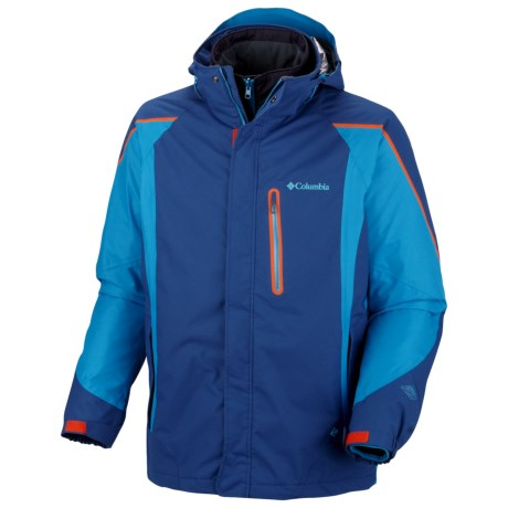 Columbia Sportswear Bugaboo Tech II Interchange Omni-Heat® Jacket - Waterproof (For Men) in Royal