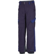 Columbia Sportswear Bugaboo Tech II Omni-Heat® Omni-Tech® Snow Pants (For Men) in Ebony Blue - Closeouts
