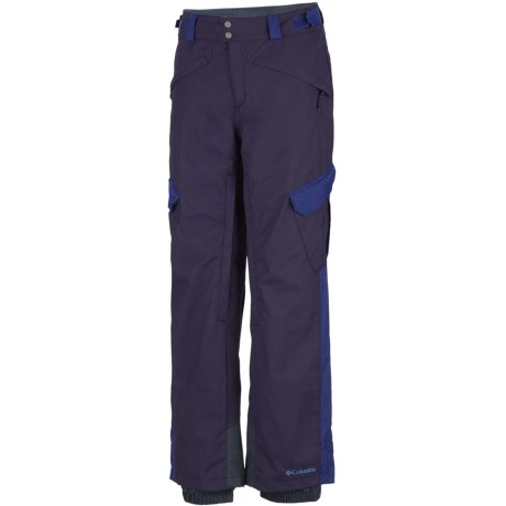Columbia Sportswear Bugaboo Tech II Omni-Heat® Omni-Tech® Snow Pants (For Men) in Ebony Blue