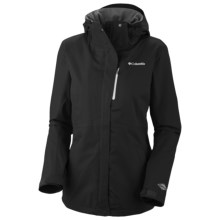 Columbia Sportswear Bugaboo Tech Shell Jacket - Waterproof (For Women) in Black - Closeouts