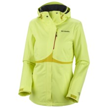 Columbia Sportswear Bugaboo Tech Shell Jacket - Waterproof (For Women) in Neon Light - Closeouts