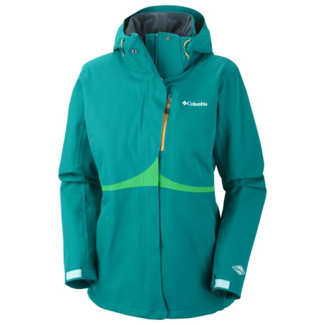 Columbia Sportswear Bugaboo Tech Soft Shell Jacket - Waterproof (For Women) in Emerald