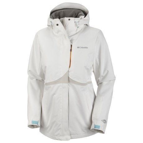 Columbia Sportswear Bugaboo Tech Soft Shell Jacket - Waterproof (For Women) in Sea Salt