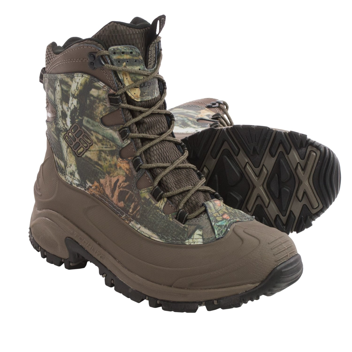 Columbia Sportswear Bugaboot Camo Snow Boots  For Men