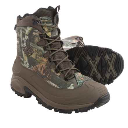 Columbia Sportswear Bugaboot Camo Snow Boots - Waterproof, Insulated (For Men) in Mossy Oak/Mud - Closeouts
