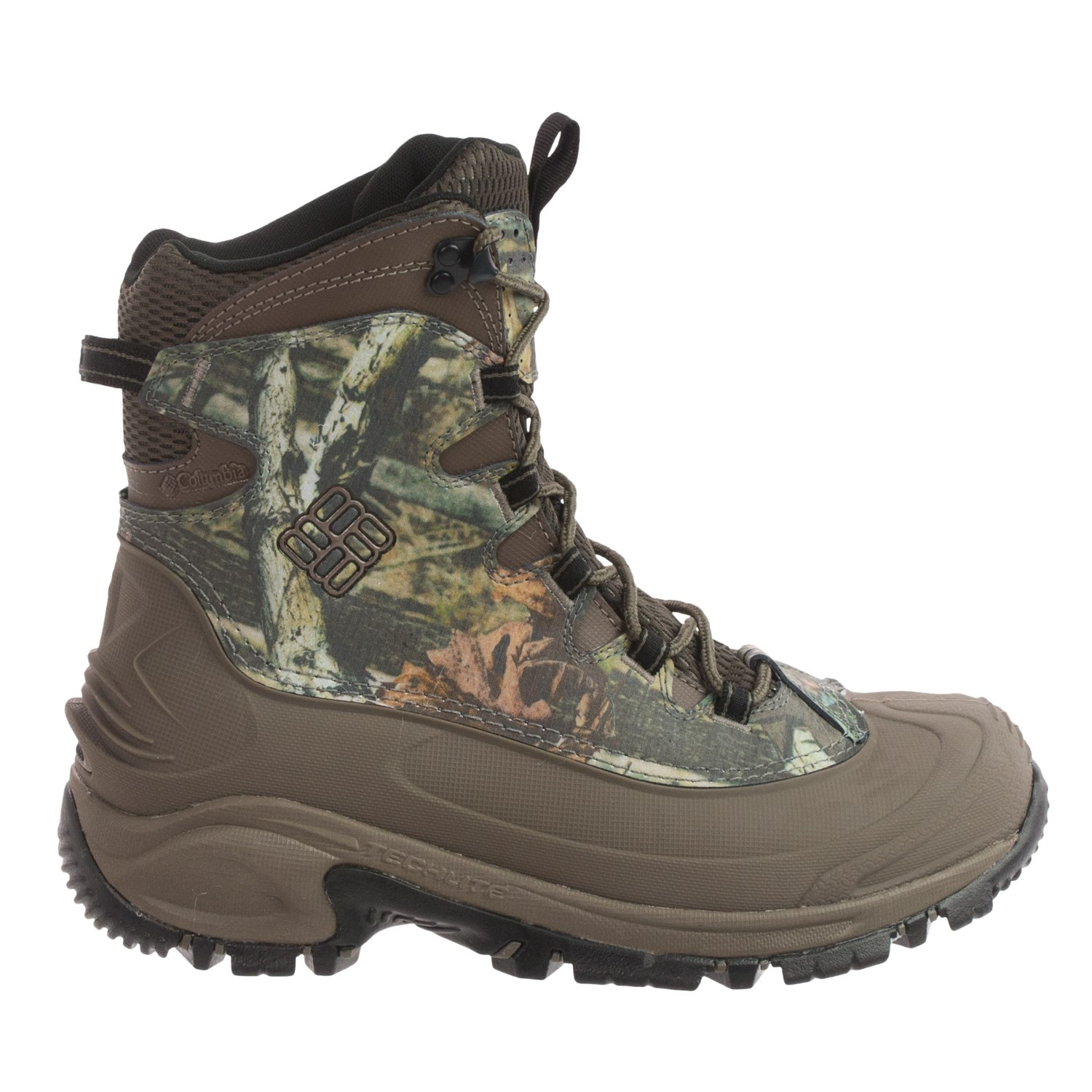 columbia sportswear bugaboot camo snow boots for