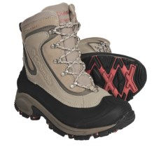 Columbia Sportswear Bugaboot Omni-Heat® Winter Boots - Insulated (For Women) in British Tan/Wild Melon - Closeouts