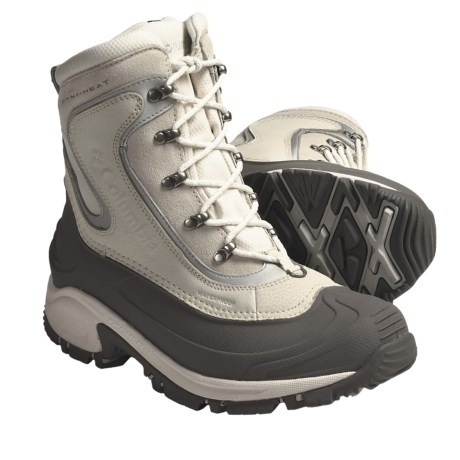 Columbia Sportswear Bugaboot Omni-Heat® Winter Boots - Insulated (For Women) in Winter White/Metallic Silver