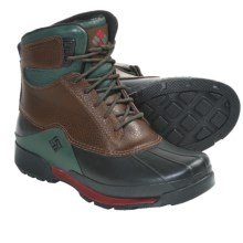 Columbia Sportswear Bugaboot Original Omni-Heat® Boots - Waterproof, Insulated (For Men) in Nutmeg/Red Element - Closeouts