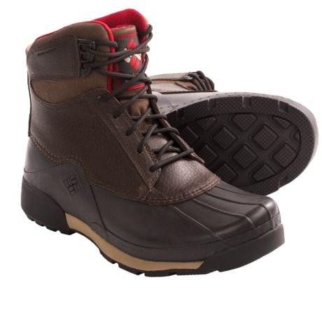 Columbia Sportswear Bugaboot Original Omni-Heat® Boots - Waterproof, Insulated (For Men) in Tobacco/Chili