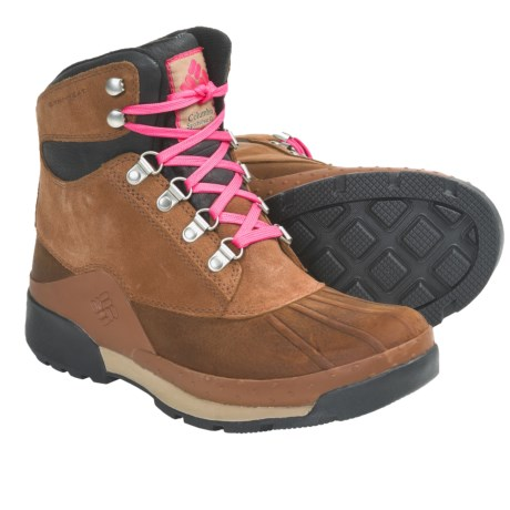 Columbia Sportswear Bugaboot Original Omni-Heat® Boots - Waterproof, Insulated (For Women) in Elk/Black