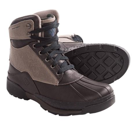 Columbia Sportswear Bugaboot Original Omni-Heat® Winter Boots - Insulated (For Men) in Pebble/Collegiate Navy