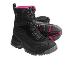 Columbia Sportswear Bugaboot Plus Omni-Heat® Winter Boots  (For Women) in Black/Bright Rose - Closeouts