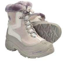 Columbia Sportswear Bugaboot Plus Omni-Heat® Winter Boots - Insulated (For Youth Boys and Girls) in Fawn/Daybreak - Closeouts