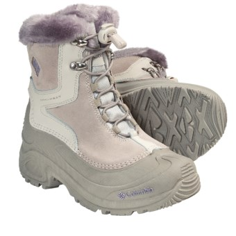 Columbia Sportswear Bugaboot Plus Omni-Heat® Winter Boots - Insulated (For Youth Boys and Girls) in Fawn/Daybreak
