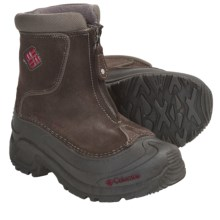 Columbia Sportswear Bugaboot Plus Omni-Heat® Winter Boots - Insulated, Zip-Up (For Youth) in Bungee Cord/Chili Pepper - Closeouts