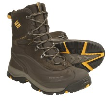 Columbia Sportswear Bugaboot Plus Omni-Heat® Winter Boots - Waterproof (For Men) in Turkish Coffee/Golden Glow - Closeouts
