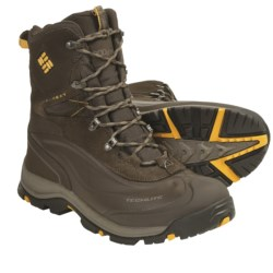 Columbia Sportswear Bugaboot Plus Omni-Heat® Winter Boots - Waterproof (For Men) in Black/Gunmetal