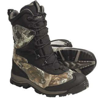 Columbia Sportswear Bugaboot Plus XTM Boots - Waterproof, Insulated, Camo (For Men) in Black/Camo