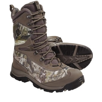 Columbia Sportswear Bugaboot Plus XTM Omni-Heat® Camo Winter Boots - Waterproof, Insulated (For Men) in Mud/Camo