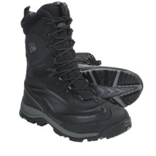 Columbia Sportswear Bugaboot Plus XTM Omni-Heat® Winter Boots - Waterproof, Insulated (For Men) in Black/Gunmetal - Closeouts