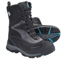Columbia Sportswear Bugaboot Plus XTM Omni-Heat® Winter Boots - Waterproof, Insulated (For Women) in Black/Enamel Blue - Closeouts