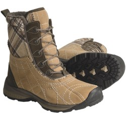 Columbia Sportswear Bugaice 2 Snow Boots - Waterproof, Insulated (For Women) in Bark/Black Cherry