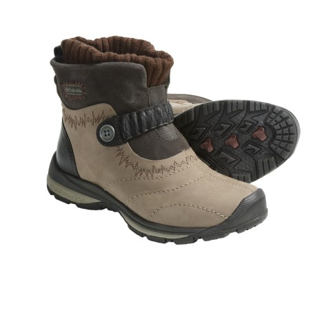 Columbia Sportswear Bugapowder 2 Winter Boots (For Women) in Tusk/Cinnamon