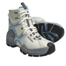 Columbia Sportswear Bugatech Lite Omni-Heat® Winter Boots - Waterproof (For Women) in Winter White/Paradise Sky - Closeouts