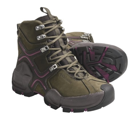 Columbia Sportswear Bugatech Omni-Heat® Snow Boots - Waterproof, Insulated (For Women) in Cargo/Tarte