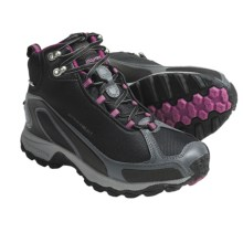 Columbia Sportswear Bugatrek Omni-Heat® Hiking Boots - Insulated (For Women) in Black/Fuchsia - Closeouts