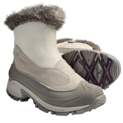 Columbia Sportswear Bugazip 2 Winter Boots - Waterproof, Insulated (For Women) in Winter White/Crushed Berry