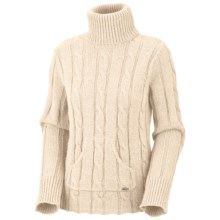 Columbia Sportswear Cable Cutie Turtleneck Sweater (For Women) in Winter White - Closeouts