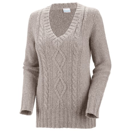Columbia Sportswear Cabled Cutie Sweater (For Women) in Flint Grey