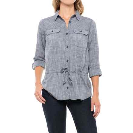 Columbia Sportswear Camp Henry II Shirt - Long Sleeve (For Women) in India Ink Crossdye