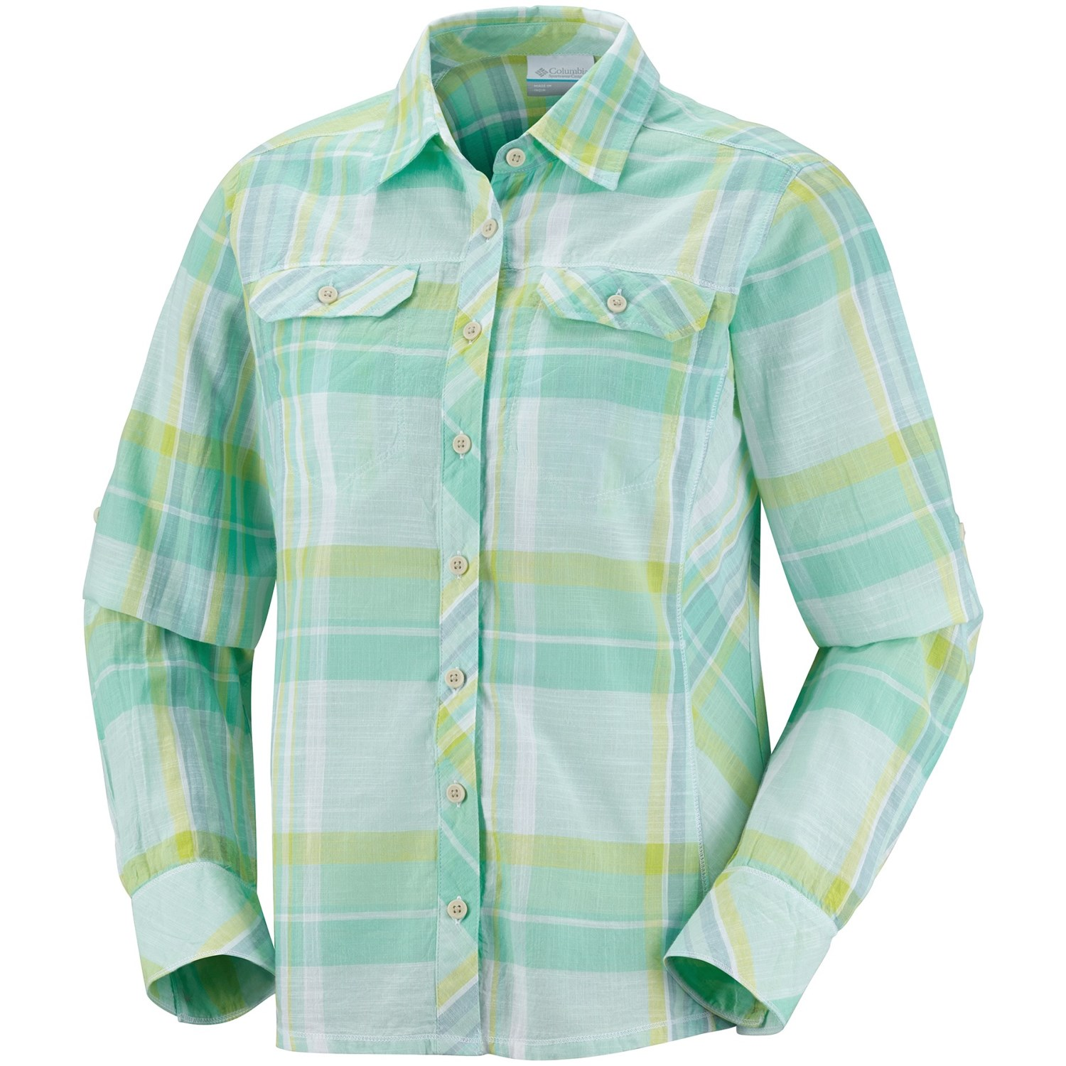 Columbia sportswear camp henry shirt long sleeve for for Women s long sleeve camp shirts