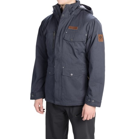 Columbia Sportswear Canyon Cross Jacket - Insulated (For Men) in India Ink