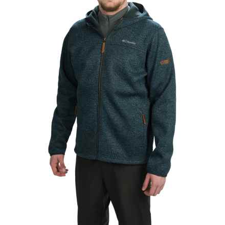 Columbia Sportswear Canyons Bend Hooded Jacket - Full Zip (For Men) in Night Shadow - Closeouts