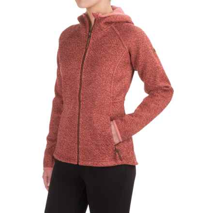 Columbia Sportswear Canyons Bend Hooded Jacket - Full Zip (For Women) in Marsala Red - Closeouts