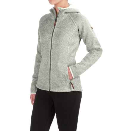 Columbia Sportswear Canyons Bend Hooded Jacket - Full Zip (For Women) in Sea Salt - Closeouts