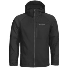 Columbia Sportswear Cascade Ridge Jacket - Soft Shell (For Men) in Black - Closeouts