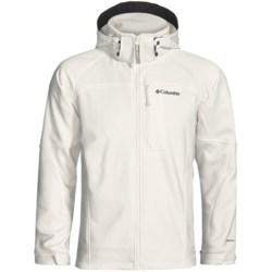 Columbia Sportswear Cascade Ridge Soft Shell Jacket (For Men) in Sea Salt