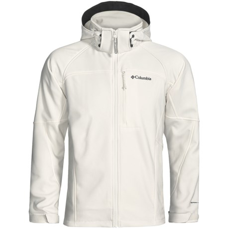 Columbia Sportswear Cascade Ridge Soft Shell Jacket (For Men) in Sea Salt