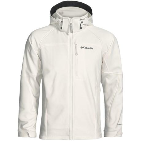 Columbia Sportswear Cascade Ridge Soft Shell Jacket (For Men) in Black