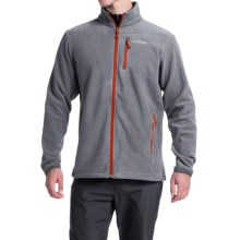 Columbia Sportswear Cascades Explorer Fleece Jacket (For Men) in Grey Ash/Super Sonic - Closeouts
