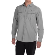 Columbia Sportswear Cascades Explorer Shirt - Omni-Shield®, UPF 30, Long Sleeve (For Men) in Columbia Grey - Closeouts
